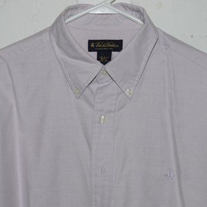 Brooks brothers dress mens shirt size L H7